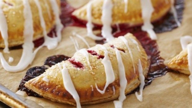 Frosted Raspberry Hand Pies