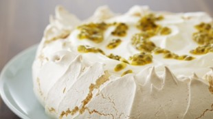 Classic Passion Fruit Pavlova