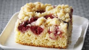 Raspberry Ricotta Buckle