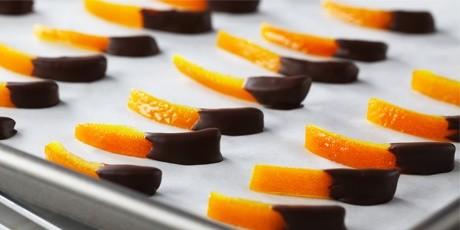 Chocolate Dipped Orange Peel | Bake with Anna Olson